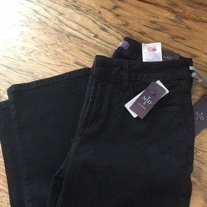 NYDJ black bootcut Jeans